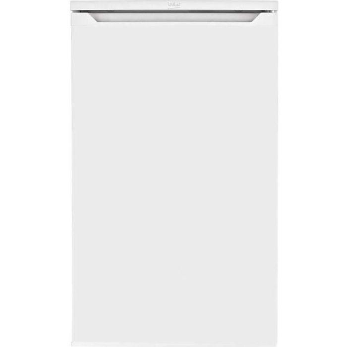 beko - réfrigérateur top 48cm 88l a+ blanc - ts190030n