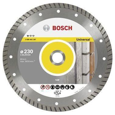 BOSCH Disque à tronçonner diamanté Professional pour Universal turbo - 115 x 22,23 x 2 x 10 mm