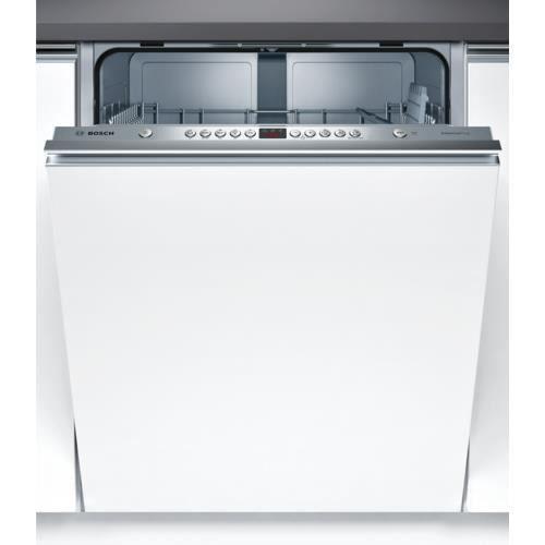 Bosch Serie 4 SMV45AX00E, Entièrement intégré, Taille maximum (60 cm), Acier inoxydable, 12 places, 48 dB, A