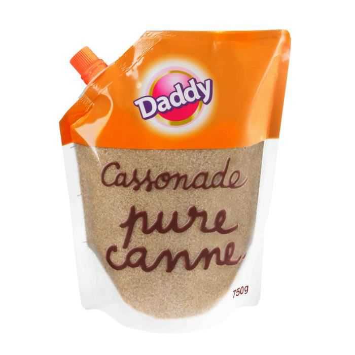 Cassonade pure canne 750 g Daddy