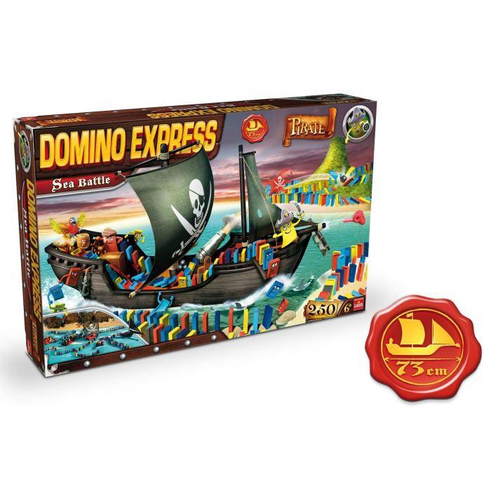 Domino Express Bateau Pirate Sea Battle