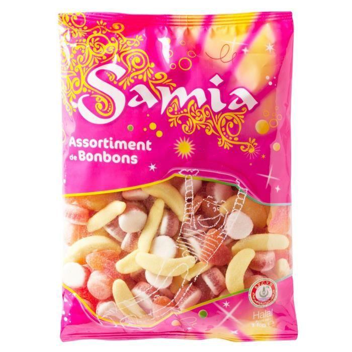 SAMIA Bonbons assortiment - 1 kg
