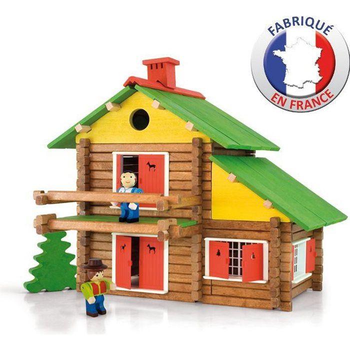 JEUJURA - Construction en bois - Mon Chalet en Bois 175 pièces