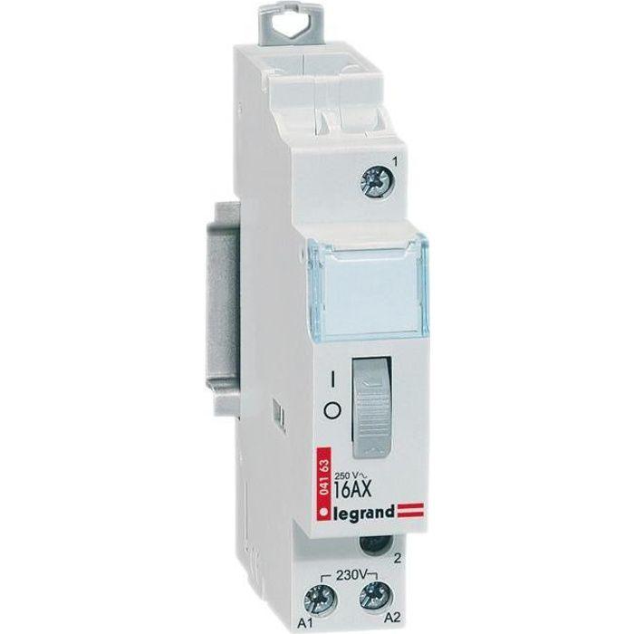 LEGRAND Télérupteur unipolaire Lexic 16A 1 module