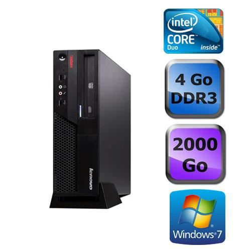 Lenovo M58 3,0 Ghz 4 Go 2 To Windows 7