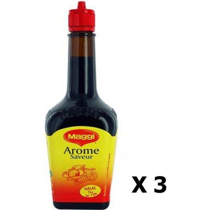 Lot 3x Arôme saveur - Halal - Maggi - flacon 200ml