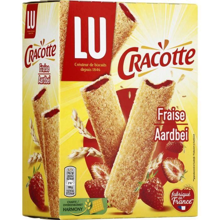 Cracotte Fourrée Fraise 200g