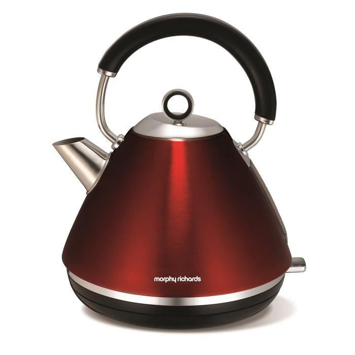 Bouilloire rouge - Morphy Richards 102004