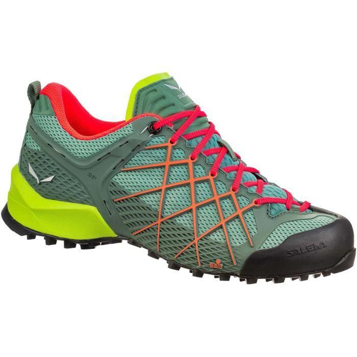 Salewa Wildfire Femmes Chaussures trail running vert
