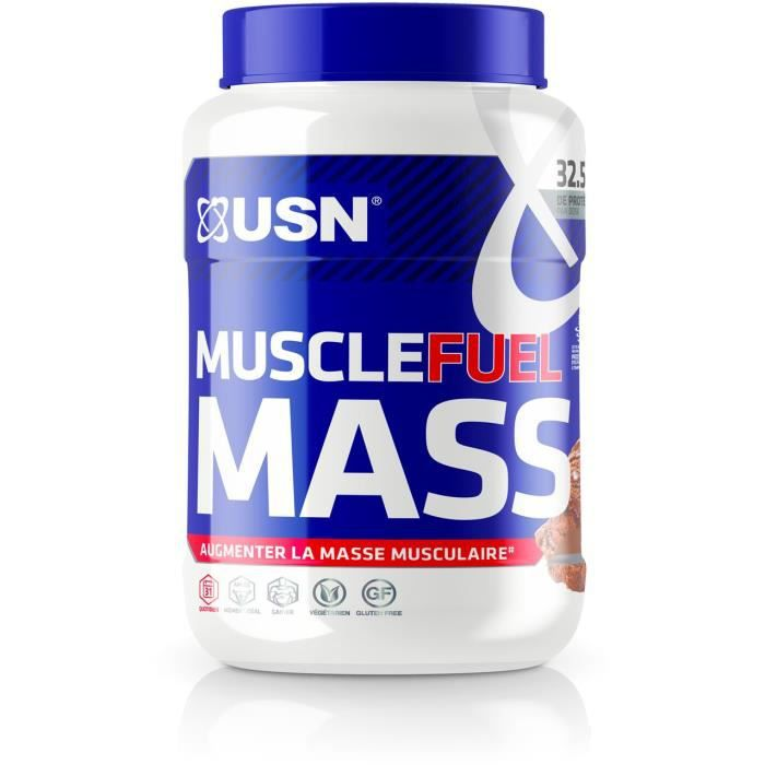 USN Prise de Masse Muscle Fuel Mass - Chocolat - 750 g