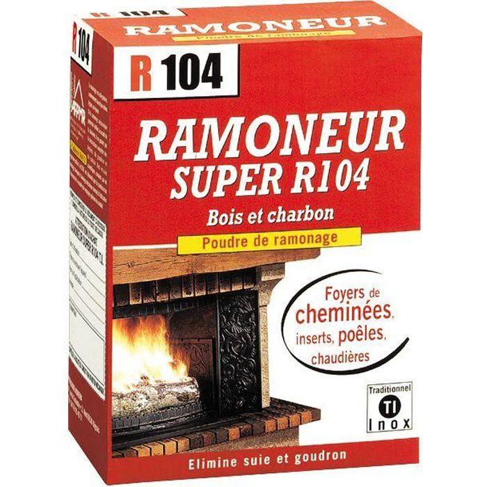 Super ramoneur R104 poudre de ramonage - 900 g