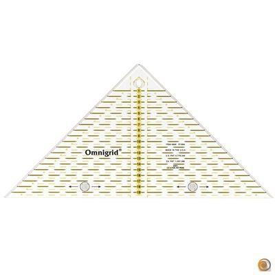 PRYM Règle Triangle Rectangle 1/4 Carré en cm