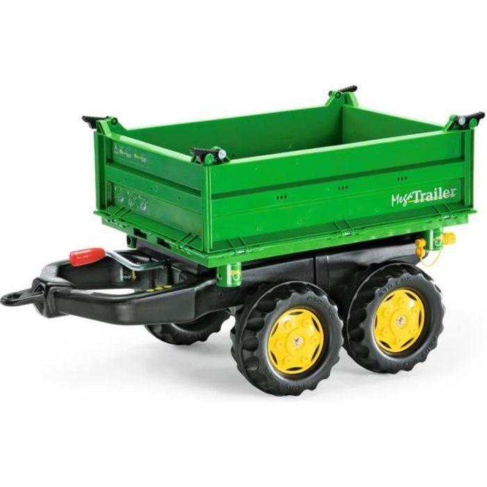 ROLLY TOYS Remorque pour tracteur à pédales Rolly Mega Trailer