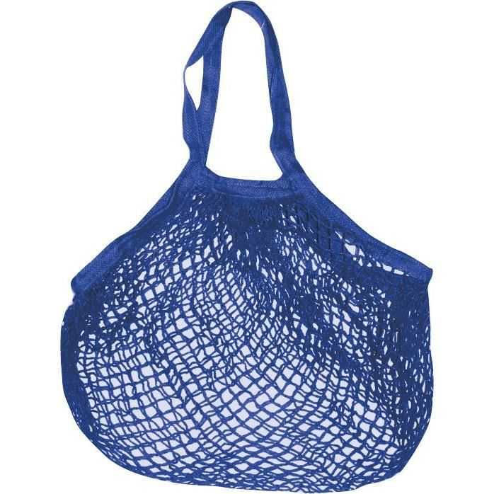 Filet coton bleu océan 40x40cm