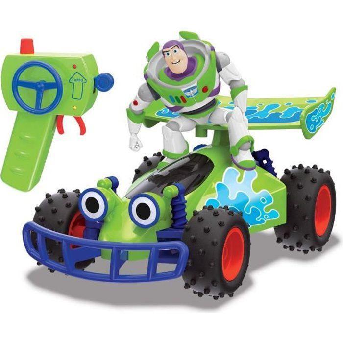 MAJORETTE Toy Story Buggy Radiocommandé Buzz L'Eclair Fonction Turbo
