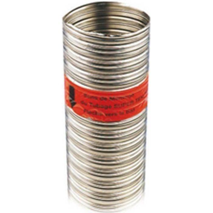 Ten Tuyau flexible double Inox-Intérieur Lisse SUPER TEN LISS Inox 904 L Inox 316 L diamètre : 200 206 Tous combustibles disponib...