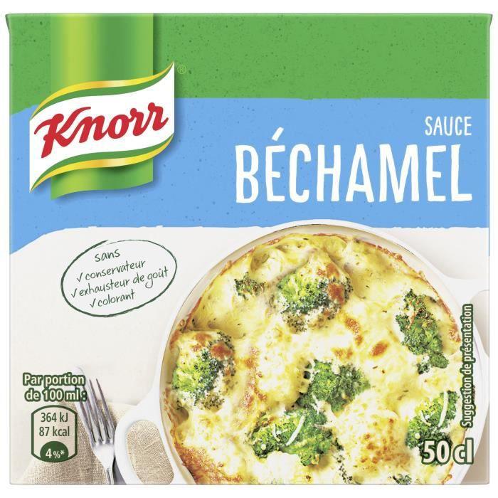 KNORR Sauce Béchamel à la Noix de Muscade Brique - 50 cl
