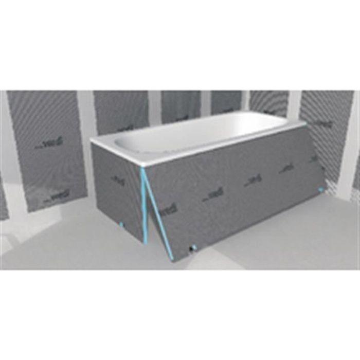 Wedi Tablier de baignoire polystyrène extrudé wedi Bathboard - 20x600x770 mm