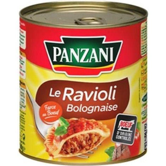 Ravioli sauce bolognaise 800g Panzani