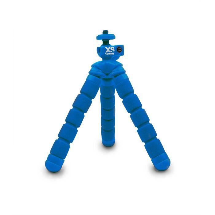 XSORIES Trépied articulé pour GoPro Mini Bendy - Bleu