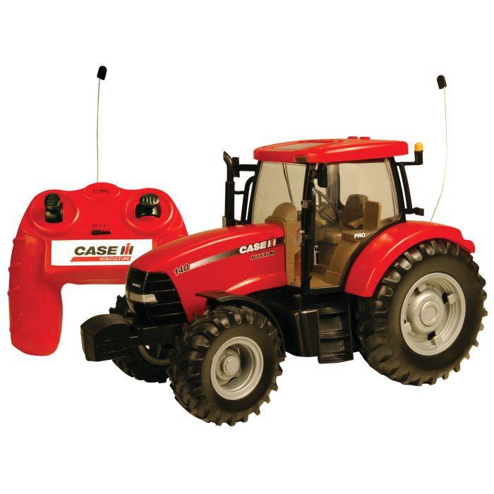 VOITURE - CAMION TOMY Tracteur télécommandé Case IH Maxxum 140