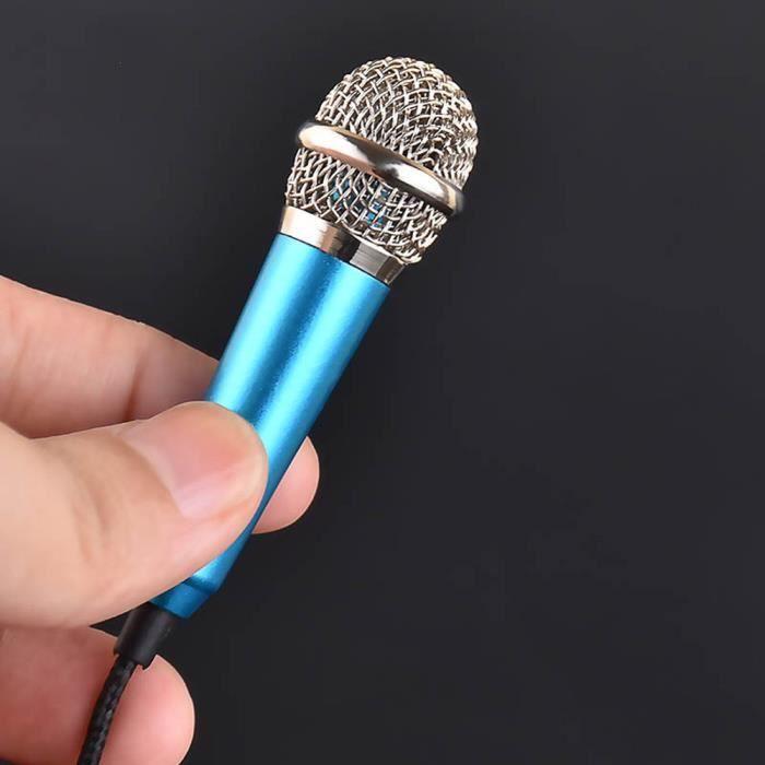 HAUT-PARLEUR - MICRO Mini micro karaoké à condensateur pour téléphone m