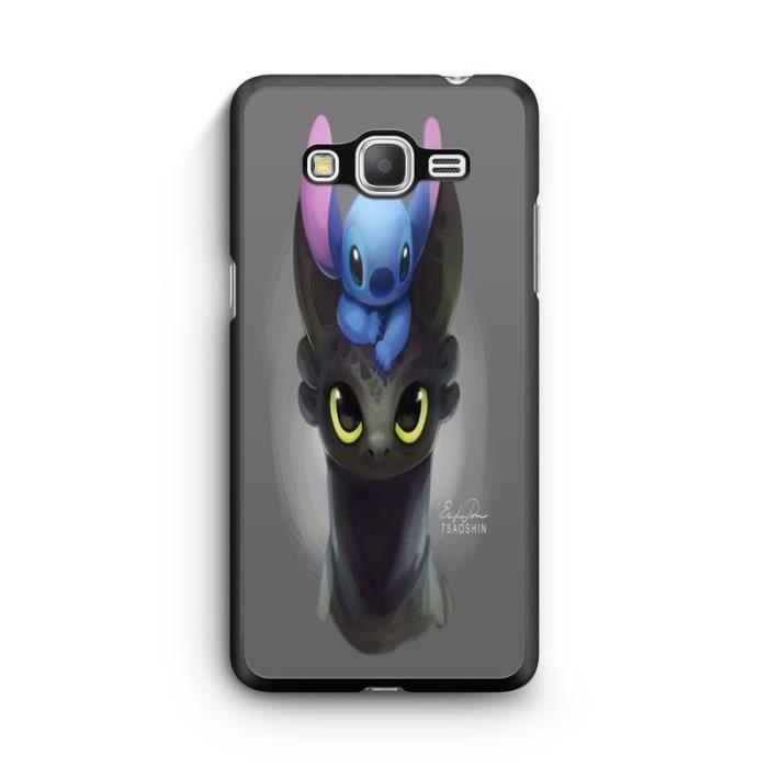 Coque Samsung Galaxy Grand Prime Lilo Stitch Tortue love Ohana ...