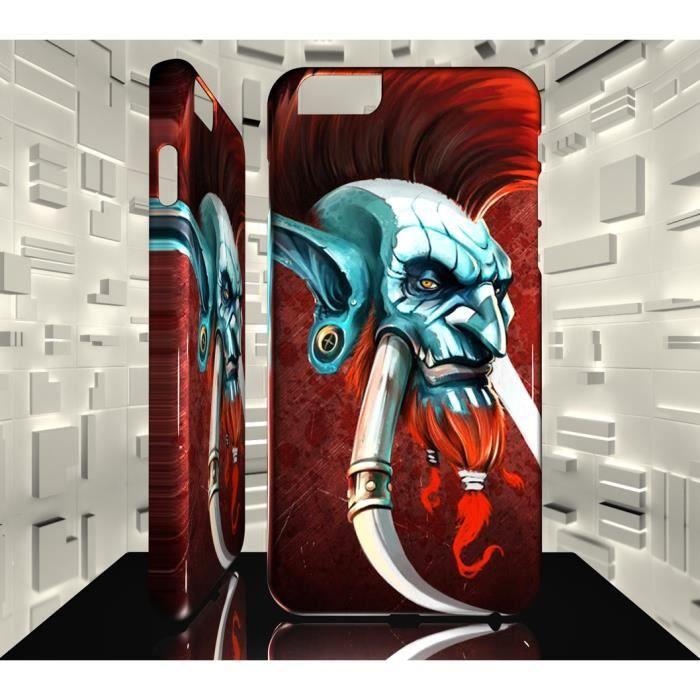 Coque Iphone 7 JVF World of Warcraft WOW 19 Vol'Jin