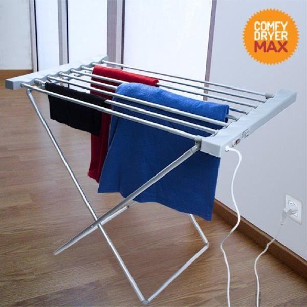 FIL À LINGE - ÉTENDOIR Étendoir à Linge Électrique Comfy Dryer Max