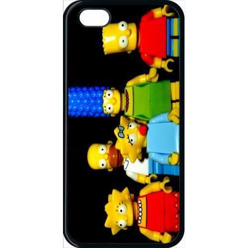 coque apple iphone 5c lego simpsons