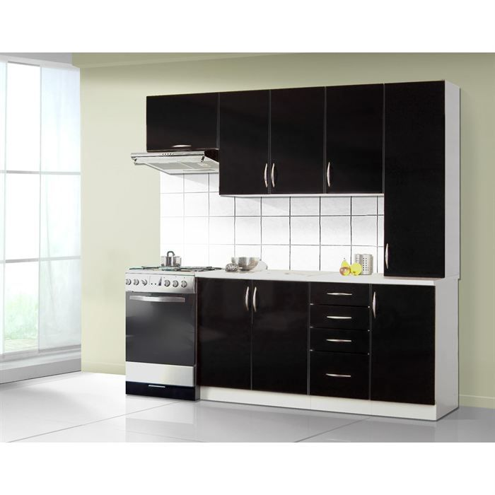 cuisine quip e theophile noir achat vente cuisine. Black Bedroom Furniture Sets. Home Design Ideas