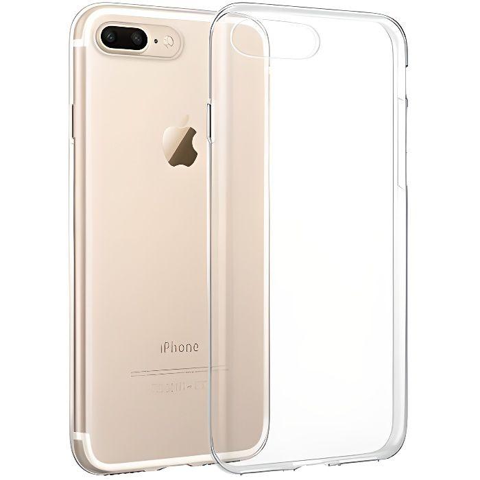 Coque iPhone 7 Plus Silicone transparente souple u