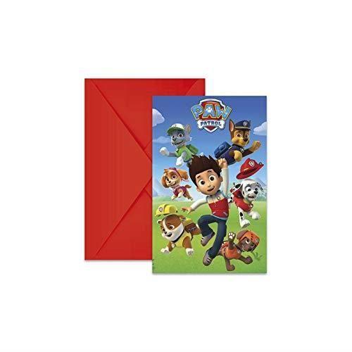 6 Cartes D Invitation Pat Patrouille Enveloppes Achat Vente Jeu De Coloriage Dessin Pochoir Cdiscount