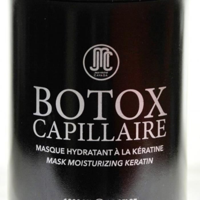 MASQUE SOIN CAPILLAIRE JEAN MICHEL CAVADA Masque Hydratant à la Keratine
