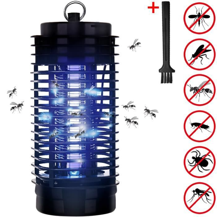 lampe uv pi ge anti moustique anti insectes achat. Black Bedroom Furniture Sets. Home Design Ideas