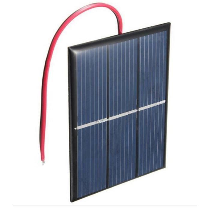 X 1 Mini panneau solaire neuf 0.5 V 100 mA cellules solaires panneaux photovoltaïques Module C 42 A