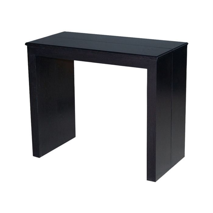 Table console extensible wengu achat vente table manger table console - Cdiscount console extensible ...