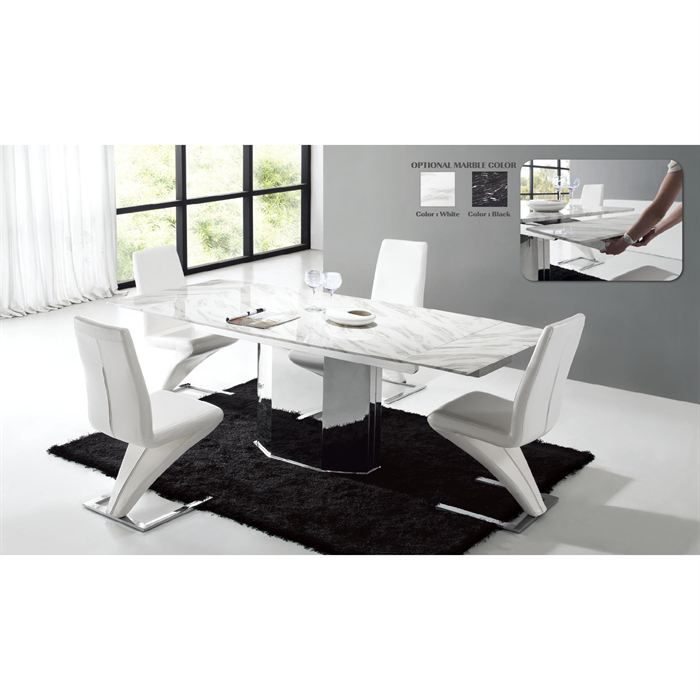 table marbre contemporaine design. Black Bedroom Furniture Sets. Home Design Ideas