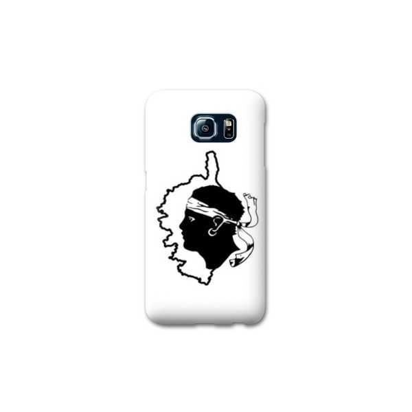 Coque Samsung Galaxy S7 Corse - - Corsica blanc