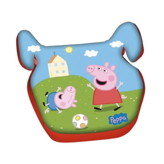 Rehausseur peppa pig siege auto enfant disney 15 36 kg for Siege rehausseur enfant