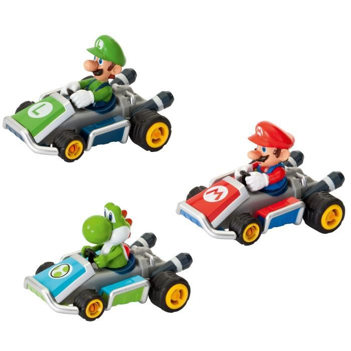 pack 3 voitures pull and speed mario kart 7 achat vente voiture camion cdiscount. Black Bedroom Furniture Sets. Home Design Ideas