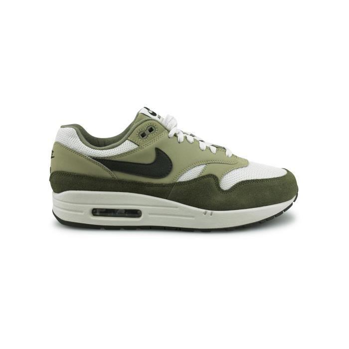 Basket Nike Air Max 1 Olive Ah8145-201 Kaki - Achat / Vente ...
