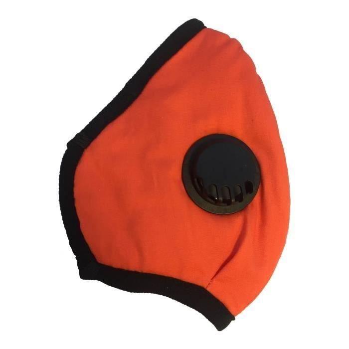 Bering Tour de cou Couleur : Noir//Orange TUBE POLAIRE ELASTIQUE