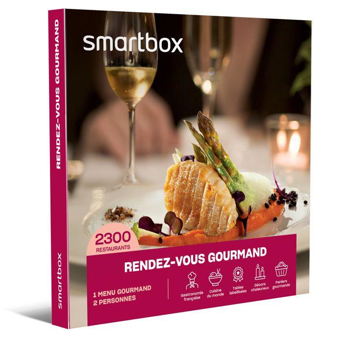 Smartbox Coffret Cadeau Rendez Vous Gourmand 2300
