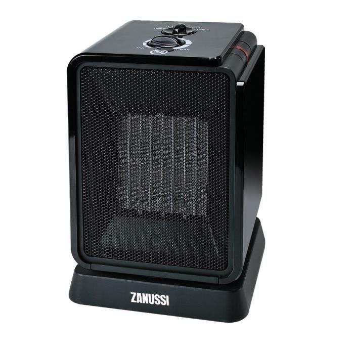 RADIATEUR D'APPOINT Chauffage céramique oscillant Cubik 1800W noir ou