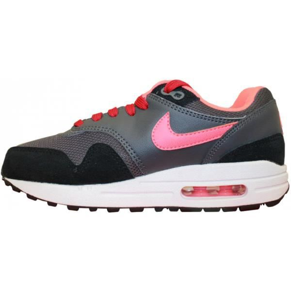 NIKE AIR MAX 1 JUNIOR GRIS