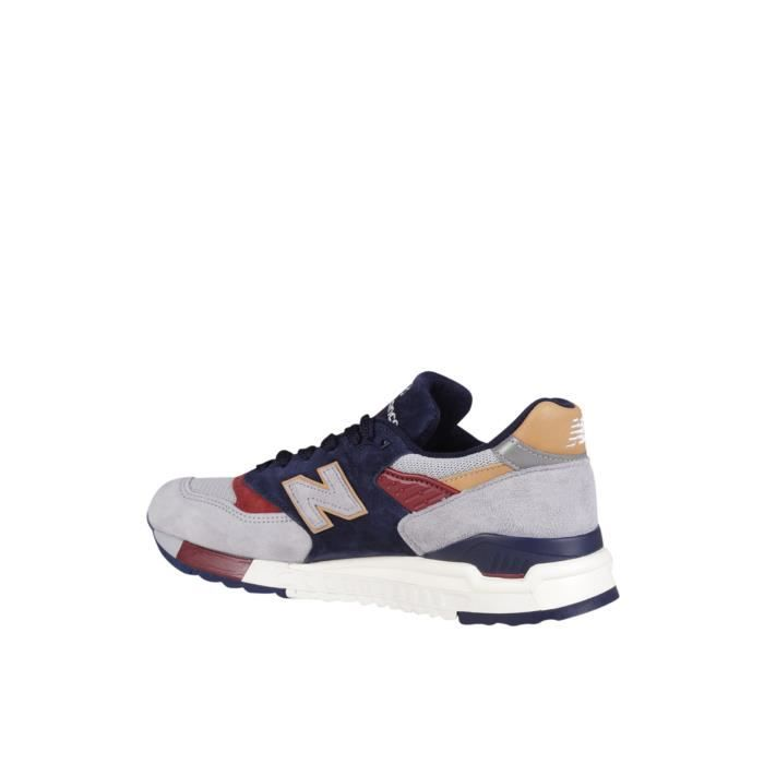 NEW BALANCE HOMME NBM998CSU MULTICOLORE SUÈDE BASKETS