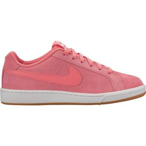 new styles 55da4 047db BASKET NIKE Baskets Court Royale Sued - Femme - Rose et C