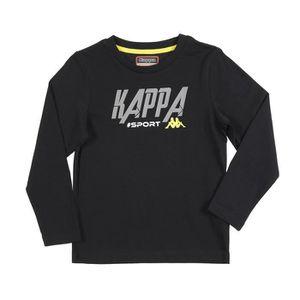 T-SHIRT KAPPA T-shirt Martial - Enfant - Noir