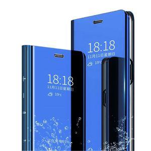 HOUSSE - ÉTUI Aclay Coque Samsung S9 Flip Clear View Translucide